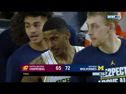 Central Michigan at Michigan - Men