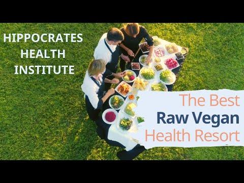 The Best Raw Vegan Health Resort - Hippocrates Health Institute
