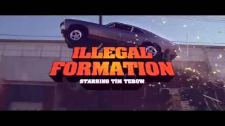 tim tebow t mobile 2014 super bowl commercial illegal formation