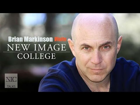 Brian Markinson Visits New  College for NIC TALKS