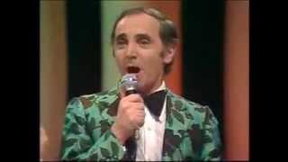 Charles Aznavour et  Michel Delpech- J