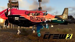 The Crew 2 : Manobras com Novo Avião - PC Gameplay
