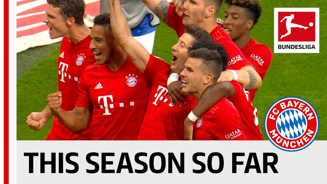 FC Bayern München - The 19/20 Season So Far - Lewandowski, Coutinho, Neuer & Co.
