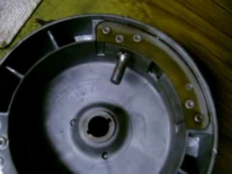 Horizontal Twin Wico Flywheel Magnet test
