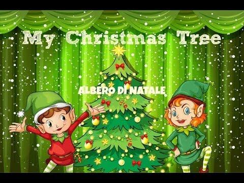 Lettera Di Auguri Di Natale In Inglese.Canzone Inglese Natale Christmastree Albero Di Natale