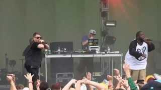 "Run The Jewels- ""Banana Clipper"" (HD) Live at Lollapalooza on 8-3-2014"
