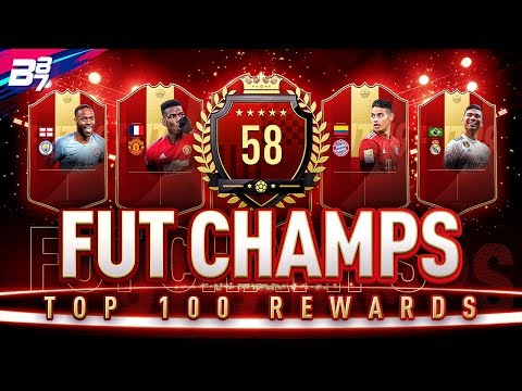 58TH IN THE WORLD FUT CHAMPIONS REWARDS! RED IF PLAYER PICK PACKS! | FIFA 19 ULTIMATE TEAM thumbnail