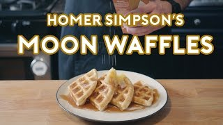 Download Binging with Babish: Homer Simpson's Patented Space Age Out-Of-This-World Moon Waffles Mp3 and Videos