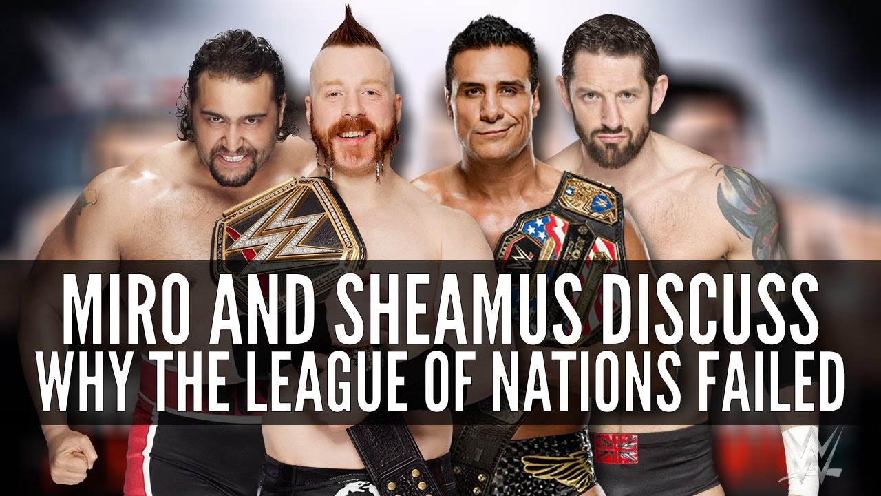 Rusev Sheamus Discuss Lack Of Planning With League Of Nations Getting In Trouble Against New Day Fightful Wrestling