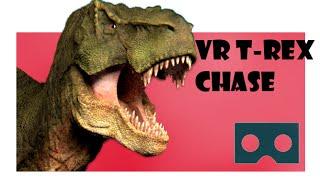360 Virtual Reality: VR T-Rex Chase