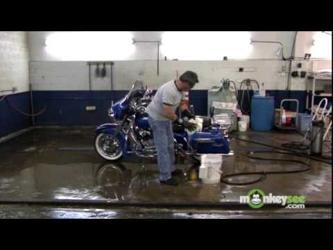 Washing Your Motorcycle