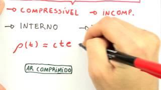 Me Salva! MFL14 - Escoamento Compressível, Incompressível, Laminar e Turbulento