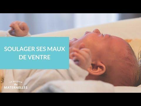 Soulager les coliques du nourrisson : par La maison des maternelles.