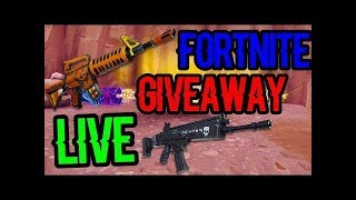 Huge 130 Fortnite water jack os @ 100 like ssave the World Giveaway Live Now join to get gun