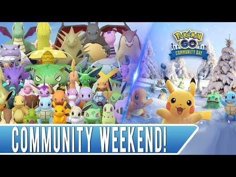 Pokémon GO Community Weekend Shiny Hunting! 100% IV Lucky Surf Pikachu! thumbnail