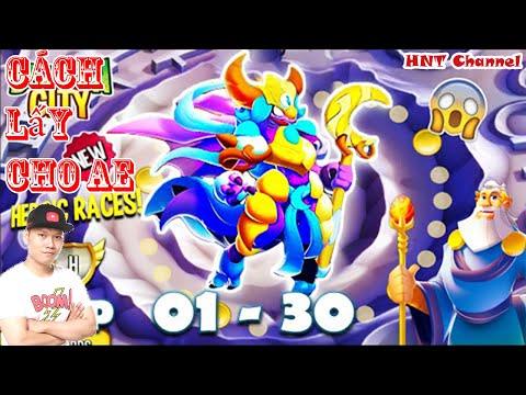 cách hack game dragon city trên facebook - Dragon City Fan Hướng Dẫn Lấy High Moon Empress Cuộc Đua Heroic Mới Lv 70 Nông Trại Rồng HNT Channel