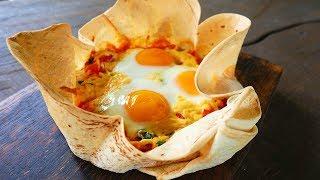 Завтрак для ЛЕНИВЫХ за 5 минут! Яичница По Царски!