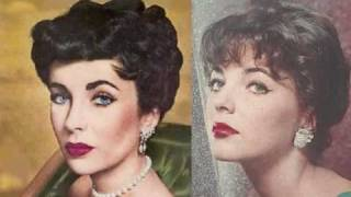 Elizabeth Taylor and Joan Collins - The Divas of the Silver Screen