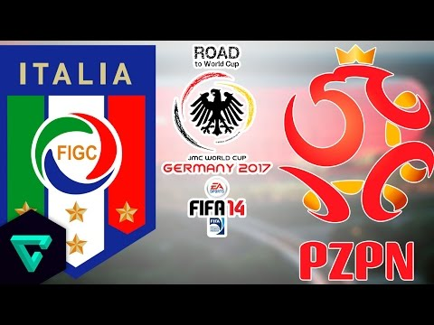 Italy vs. Poland | Final Match | Road To World Cup Germany 2017 | FIFA 14