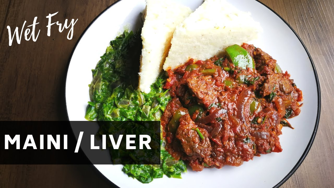 Download MAINI WET FRY | How to cook OX-Liver/Simple FINGER LICKING Kenyan Style Maini | #withme #cookwithme