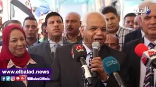 وزير النقل: «إحنا خدامين الشعب المصري».. فيديو وصور