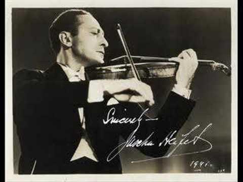 Heifetz-Mendelssohn Violin Concerto E Minor (Op. 64)-Part 1