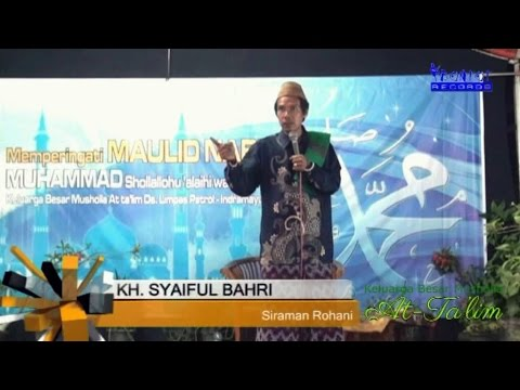 KH. SYAIFUL BAHRI - ISRA MI'RAJ 1437 H. - BARIDIN - THE BONTOT RECORDS