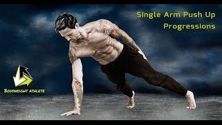 Single Arm Push Up Progressions Tutorial