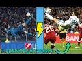 Najpiękniejsze bramki z przewrotki. (Cavani,Ronaldinho,Bale)