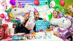 KAANS EINHORN GEBURTSTAGSPARTY! Nina + Kathis Überraschung zum 29. Geburtstag!