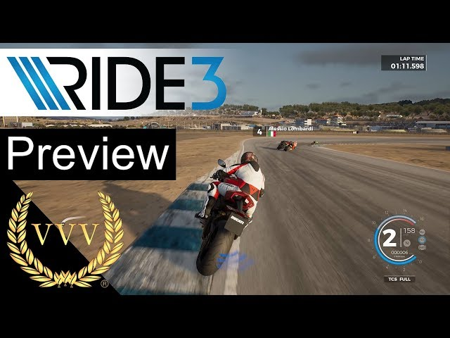 Ride 3 Preview Gameplay