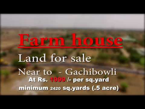 Investment opportunities in Farm Land near mokila,shankarpally