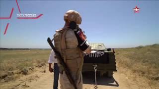Российские военные расстреливают джихад-мобиль из гранатомета: эксклюзивные кадры