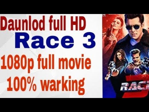 How to daunlod race e full movie in HD. Full HD race 3 full movie
