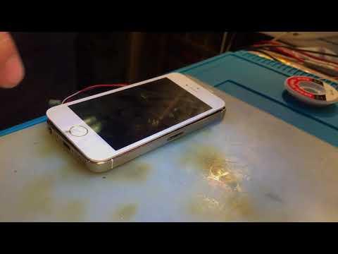 Ремонт IPhone 5s не включается после другого сц