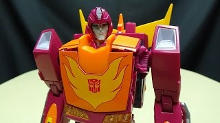 MP-28 Masterpiece HOT RODIMUS (Hot Rod): EmGo's Transformers Reviews N' Stuff screenshot 1