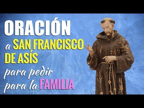 🙏 Oración a San Francisco de Asís para PEDIR PARA LA FAMILIA 👪