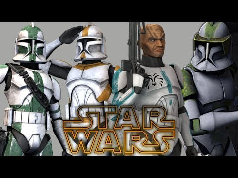 All Major Clone Companies & Divisions - Star Wars Explained