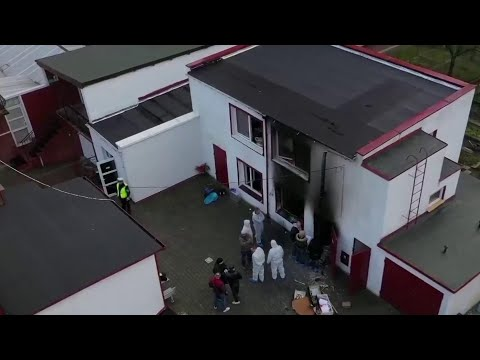 Five Teens Killed In Fire At Poland 'Escape Room' Birthday Party   NBC Nightly News