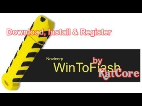 Novicorp WinToFlash 1.11.0000 Professional + Patch {June-2017}
