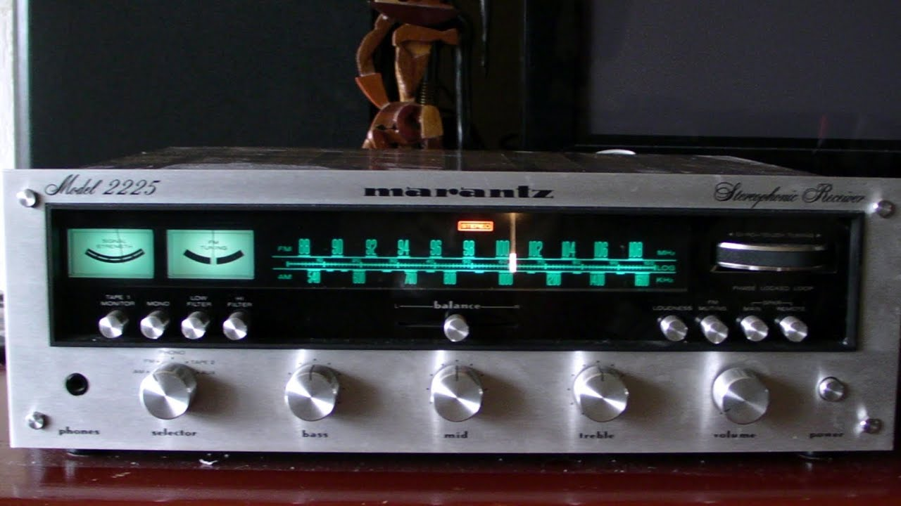 Marantz 2225 Review Test Youtube