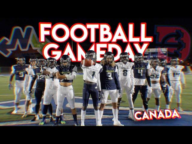 FOOTBALL GAMEDAY AU CANADA 🇨🇦(VS TROIS-RIVIÈRES)