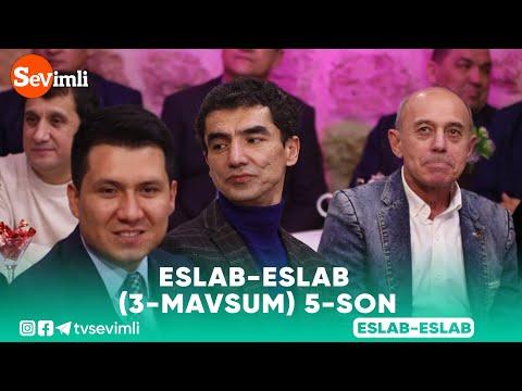 Eslab (3-mavsum) 5-son | Эслаб (3-мавсум) 5-сон