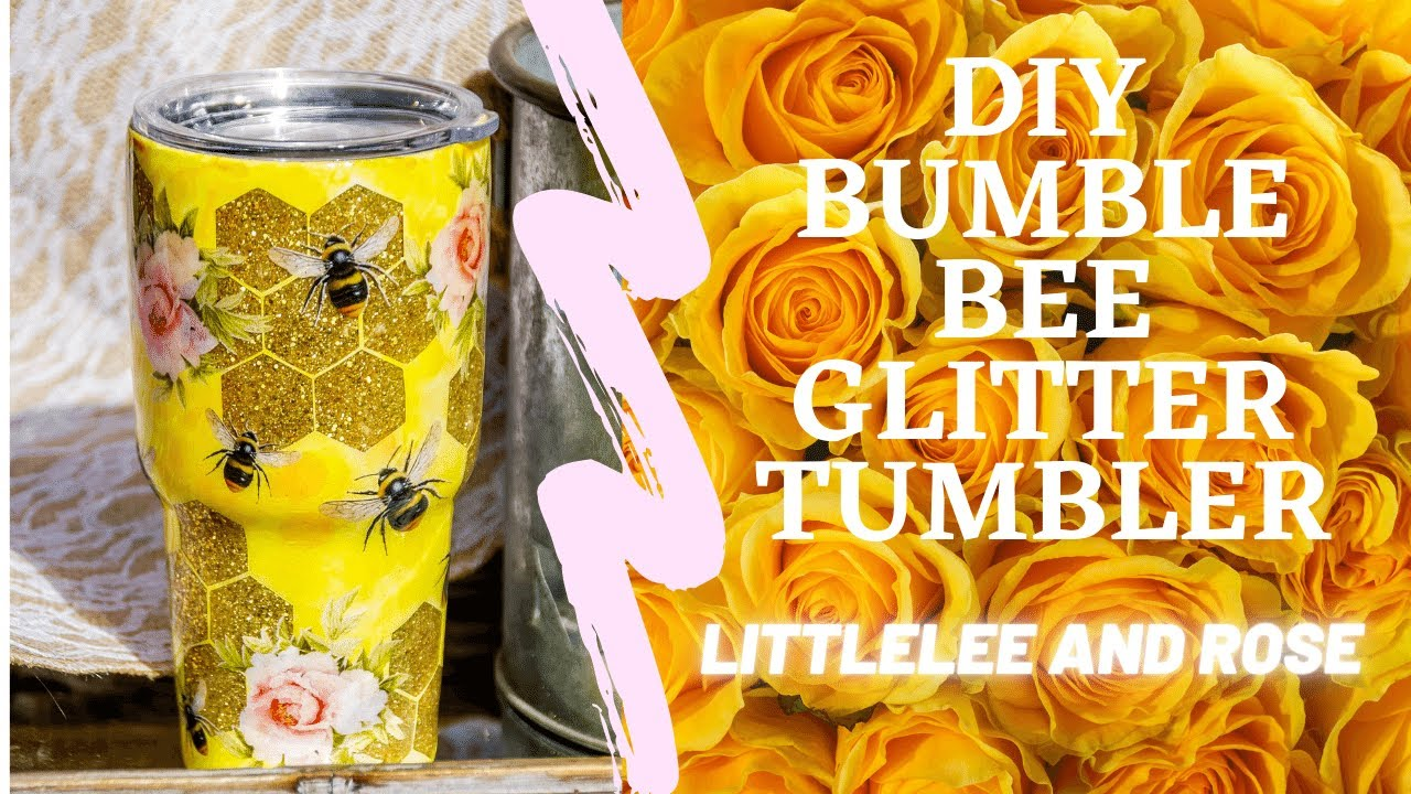 Custom BumbleBee Tumbler