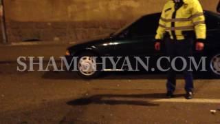 Երևանում բախվել են Porsche Cayenne ն ու Opel ը  Porsche ի վրայից հանել էին համարանիշները