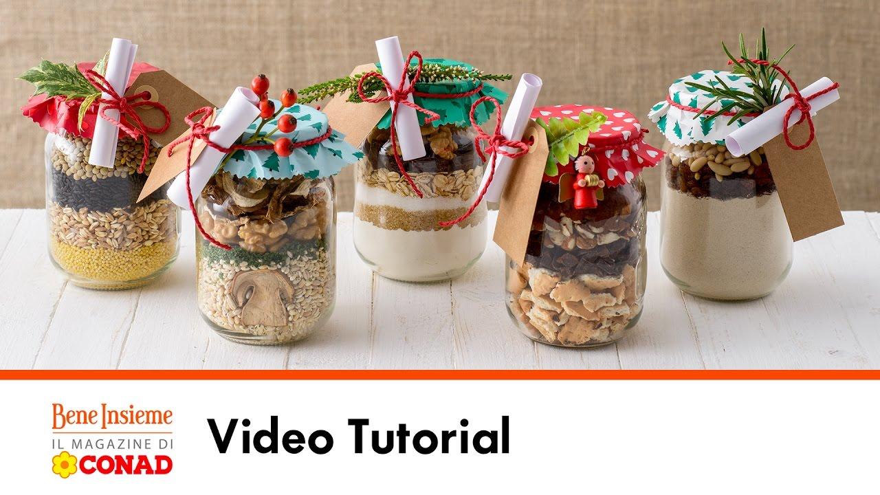 Idee Regalo Natale Fai Da Te Cucina.Regali In Barattolo Tutorial Conad Bene Insieme