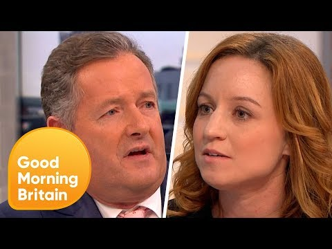 Piers Morgan Challenges PETA Director Over 'Monkey Selfie' Legal Battle | Good Morning Britain