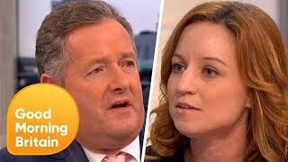 Piers Morgan Challenges PETA Director Over 'Monkey Selfie' Legal Battle   Good Morning Britain