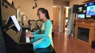 Duyên Kiếp & Khi Người Yêu Tôi Khóc- tiếng dương cầm của bé Thiên Ân