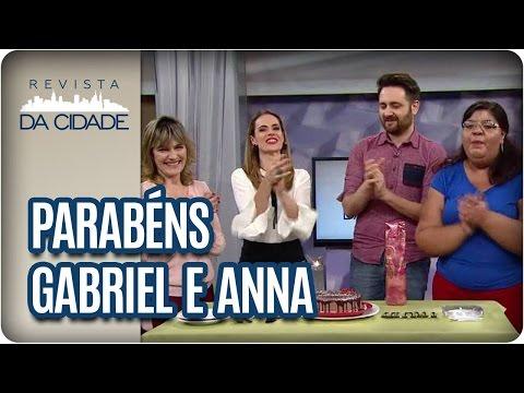 Aniversário Gabriel Perline e Anna Paola Fragni - Revista da Cidade (10/04/2017)